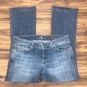 "7 for all mankind ""A"" pocket size 28"